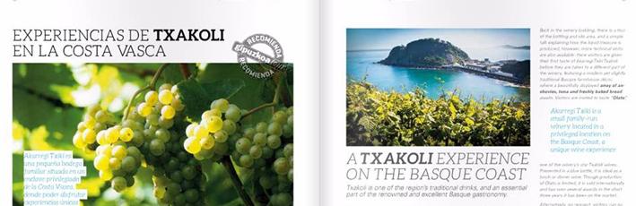 Nuestras visitas guiadas, protagonistas en Gipuzkoa Tour Magazine
