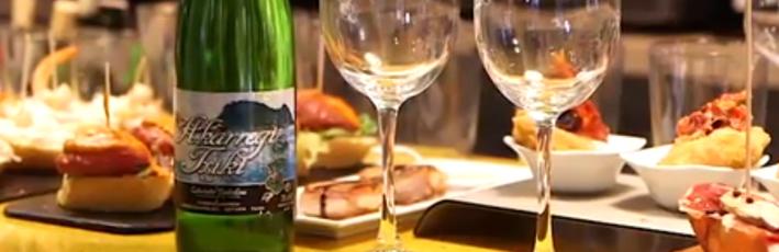 Akarregi Txiki en el programa 'A mesa puesta' de TeleDonosti
